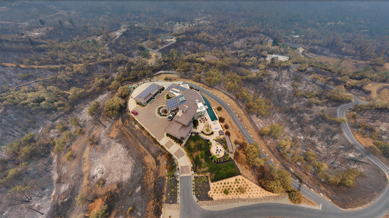 Incredible Aerial Images of Northern California's Carr Fire