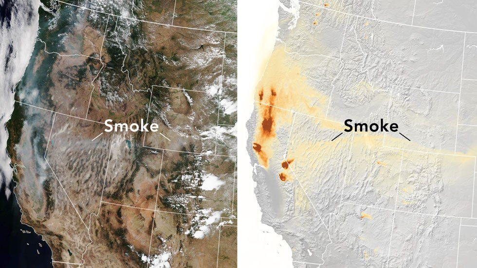 New Model Better Predicts Where Wildfire Smoke Will Travel
