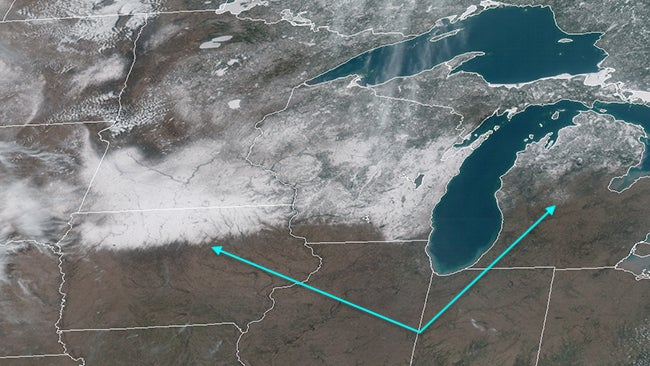 good riddance  winter  satellite imagery reveals mid