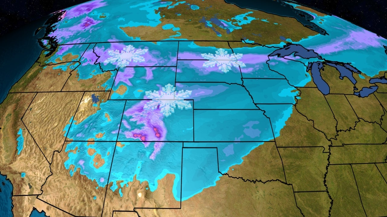 October Snow Sets Records for Some, and More Is on the Way