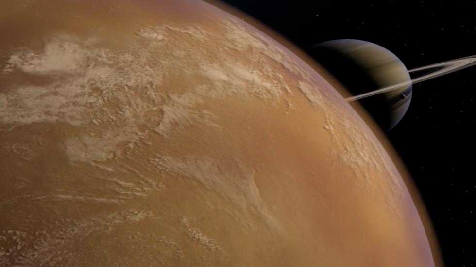 Polar Vortex on Saturn's Moon Lasts 22 Years