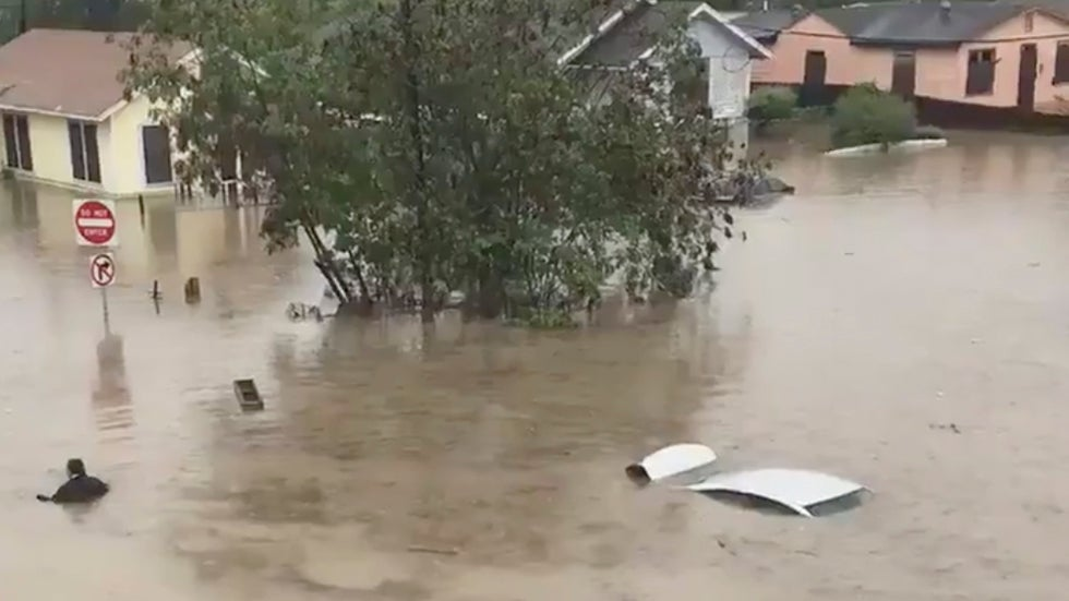 Heavy Rain in South Texas Could Bring More Flooding Before Tropical Disturbance Washes Out