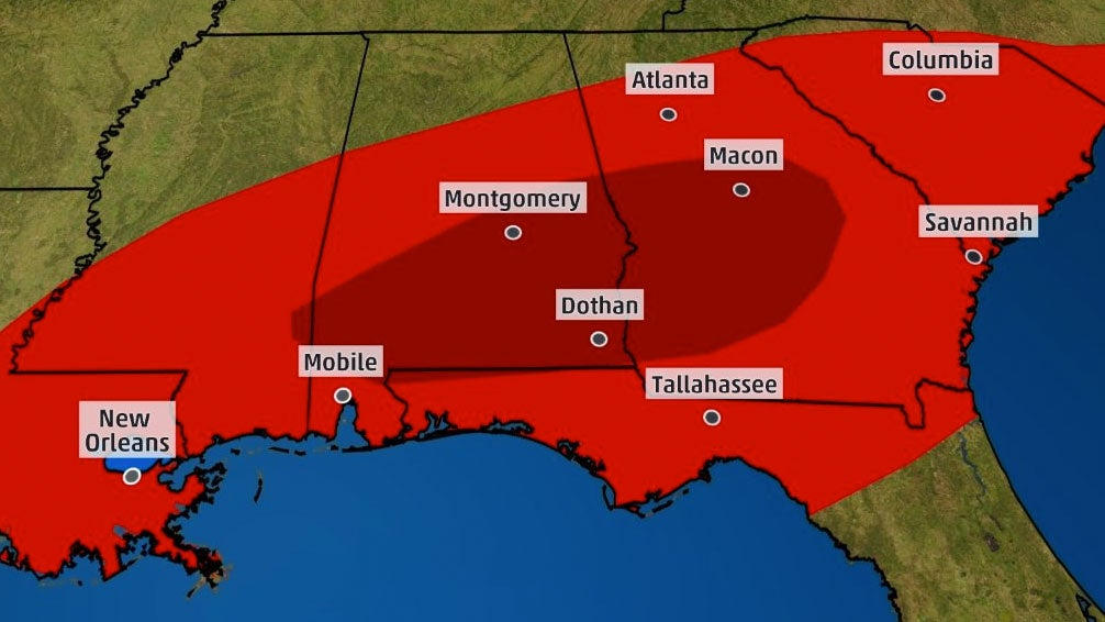 tornado outbreak struck the south sunday  recap