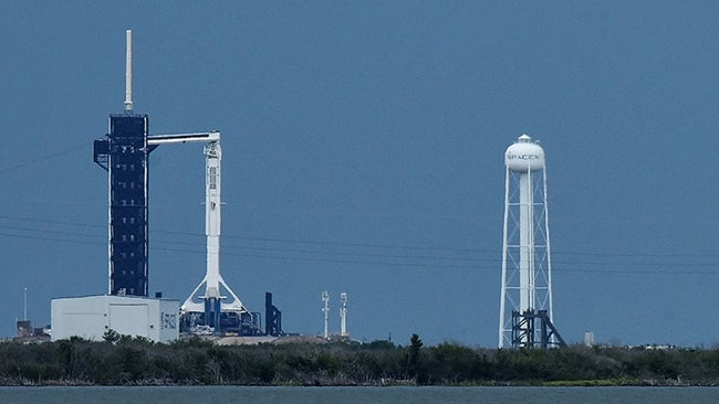 """SpaceX Launch This Weekend Now """"GO"""" for Launch With Thunderstorms Moving Inland"""