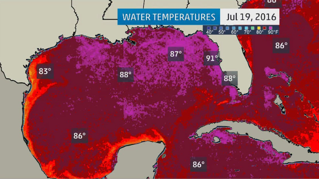 Gulf Of Mexico Hot Tub Could Fuel Hurricane Season