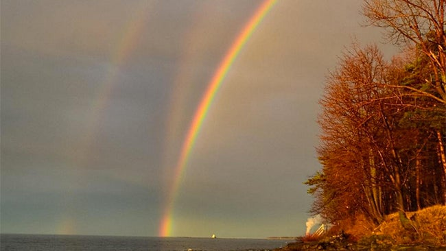 luck of the irish  rare triple rainbow appears just in time for st  patrick u0026 39 s day