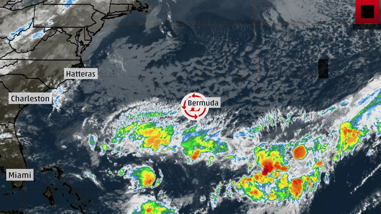 Tropical Storm Jerry Expected to Become a Hurricane in the Atlantic Later this Week