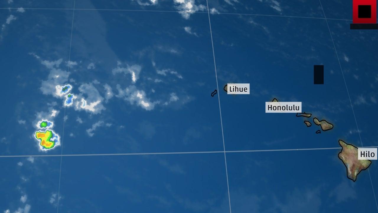 Resultado de imagen para Hurricane Lane map Hawaii