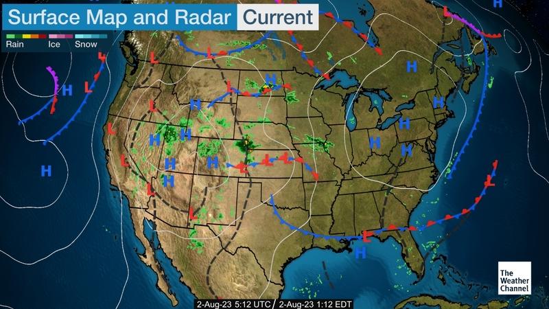 Weather.com Map