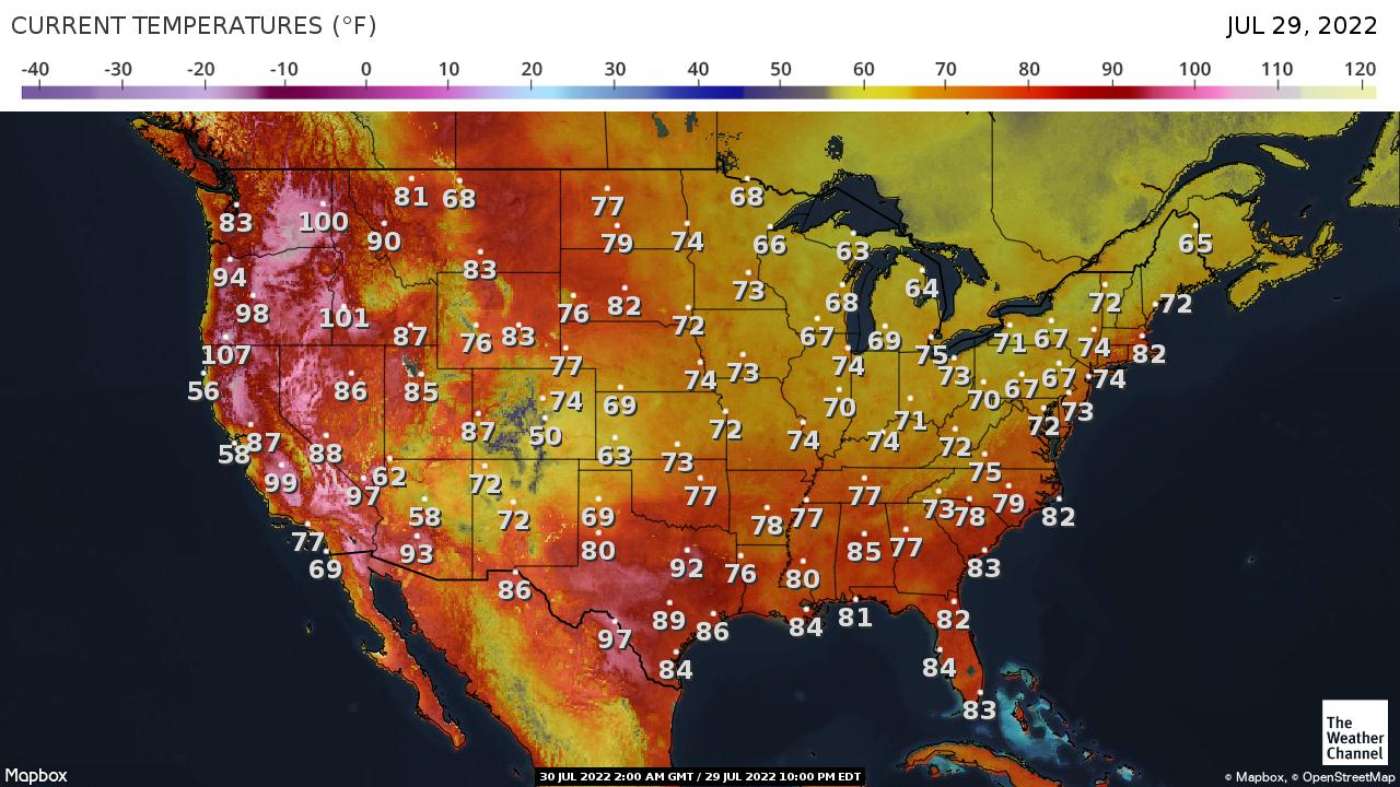 National Forecast and Current Conditions | The Weather Channel