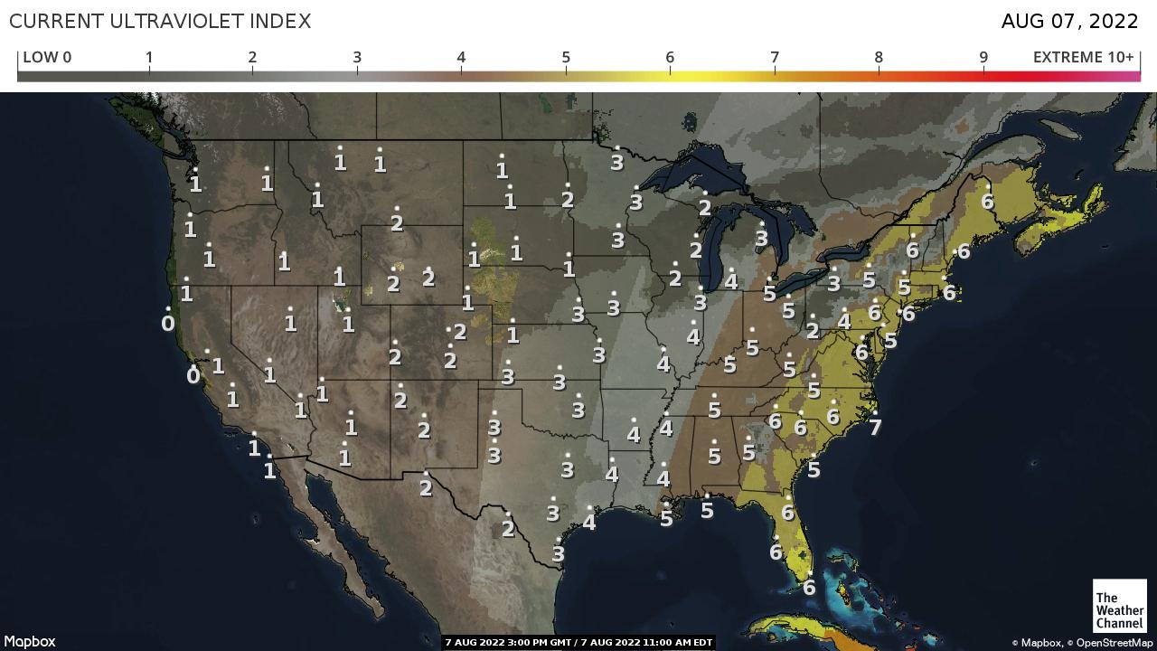 USA UV Index