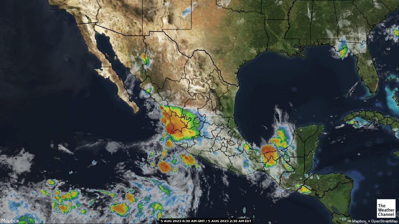 Mexico Satellite