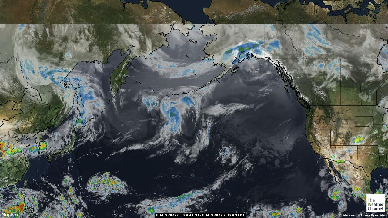 Pacific Ocean Satellite Weather Map.Pacific Weather Satellite Maps Remembers Egregation