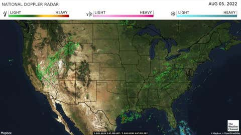 Us National Weather Map Radar National Forecast and Current Conditions | The Weather Channel