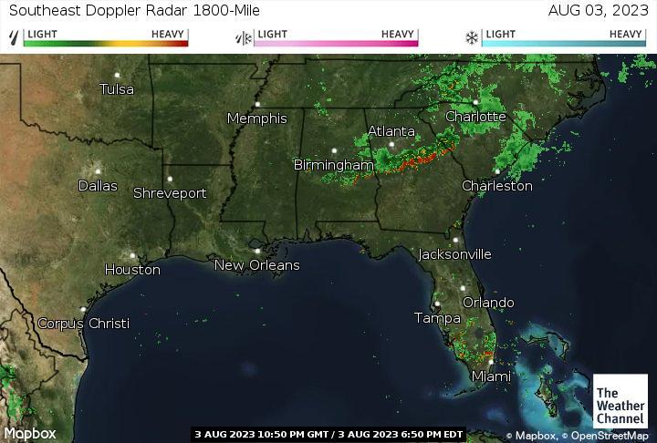 Southeast Us Weather Radar Map Images Weather Forecast Maps - Shreveport weather radar live