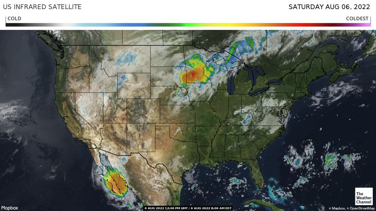 Today National Weather Map.National Forecast And Current Conditions The Weather Channel