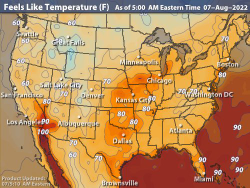United States Current Temperatures | Temperature Maps | Weather