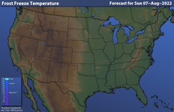 United States Current Temperatures | Temperature Maps | Weather ...