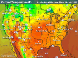 Intellicast - <br> <i>Current Temperatures</i>