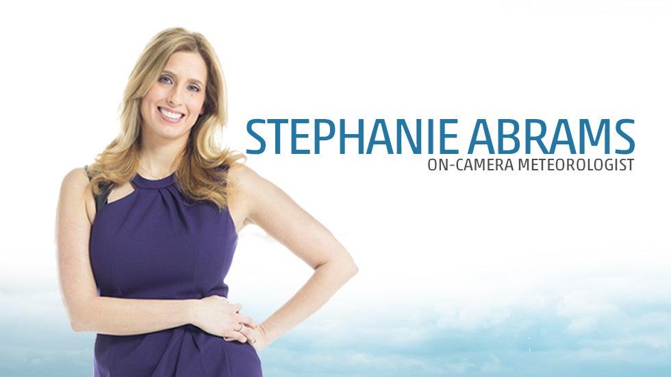 Meteorologist Stephanie Abrams