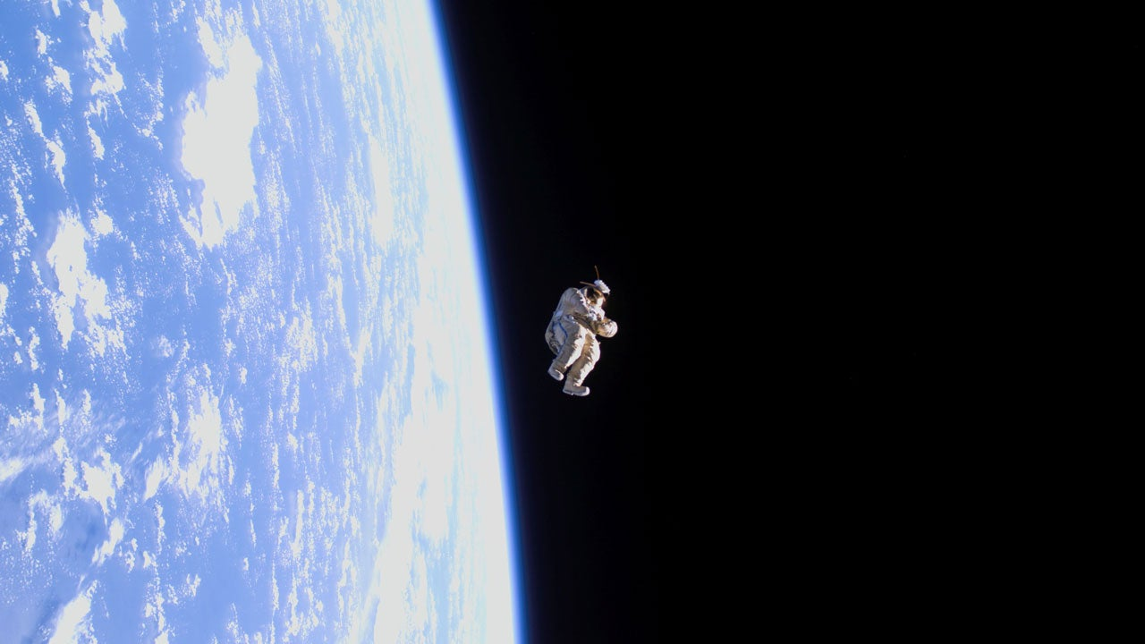 An Empty Space Suit Could Be The Most Bizarre Satellite To