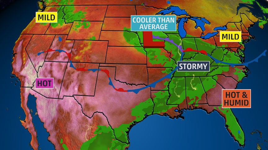 Summer Solstice Won't Feel Like Summer in Some Parts of the U.S.