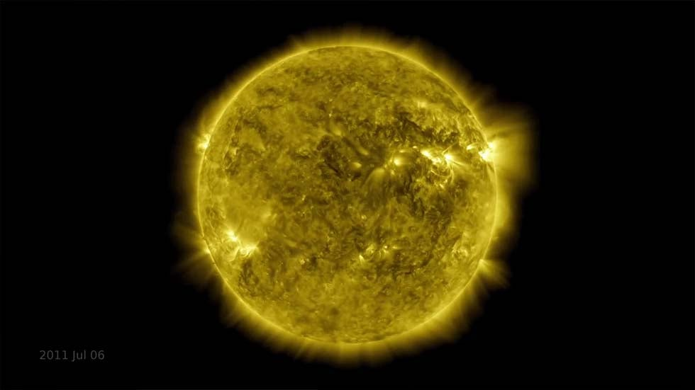 Time-Lapse Shows 10 Years in Life of Sun