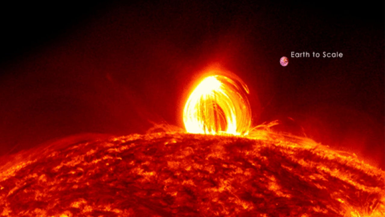 NASA's Unexpected Discovery: It Rains On the Sun