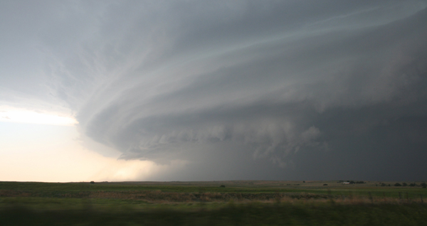 Supercell Thunderstorm in Oklahoma