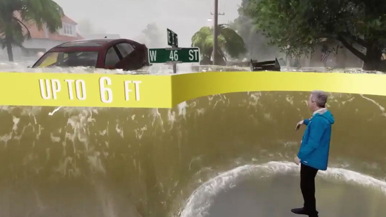Just What the Storm Surge from Hurricane Florence Could Look Like