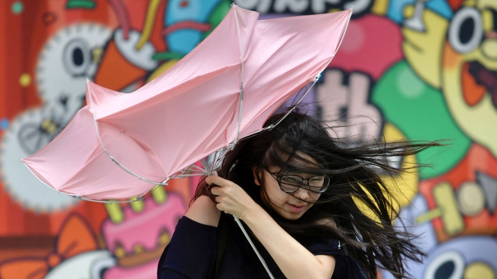 Tropical Storm Bailu Drenches Taiwan