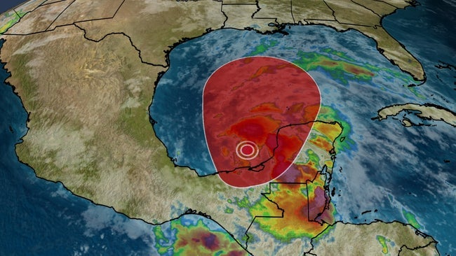 Tropical Storm Cristobal Forms in Gulf