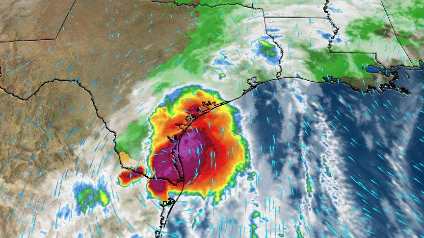 Heavy Rain in South Texas Prompts Flash Flood Emergencies