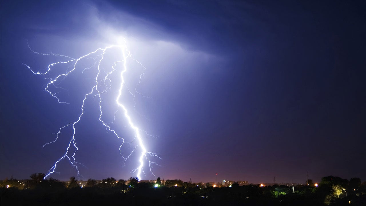 Louisiana Storm Causes First Lightning Death of 2016 | The ...