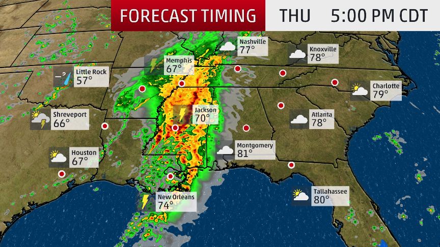 Tornadoes, Hail, Damaging Winds Possible: What We Know