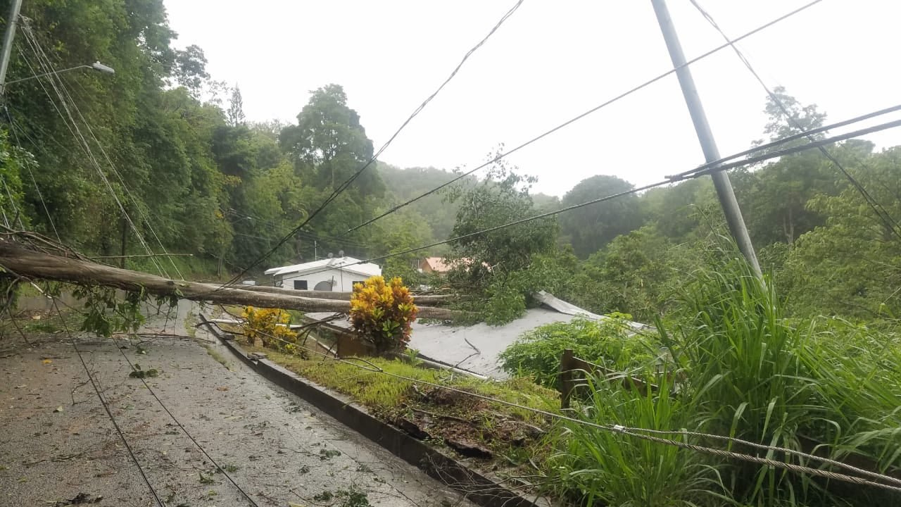 Tropical Storm Karen Floods Streets, Traps People in Homes in Tobago