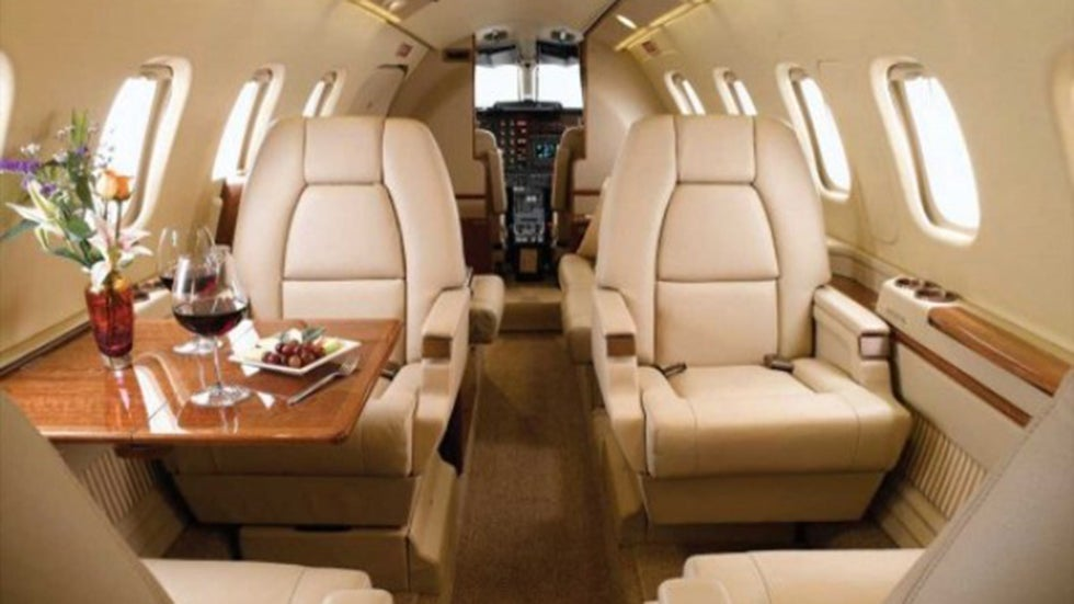 Top Luxury Private Jets (PHOTOS)