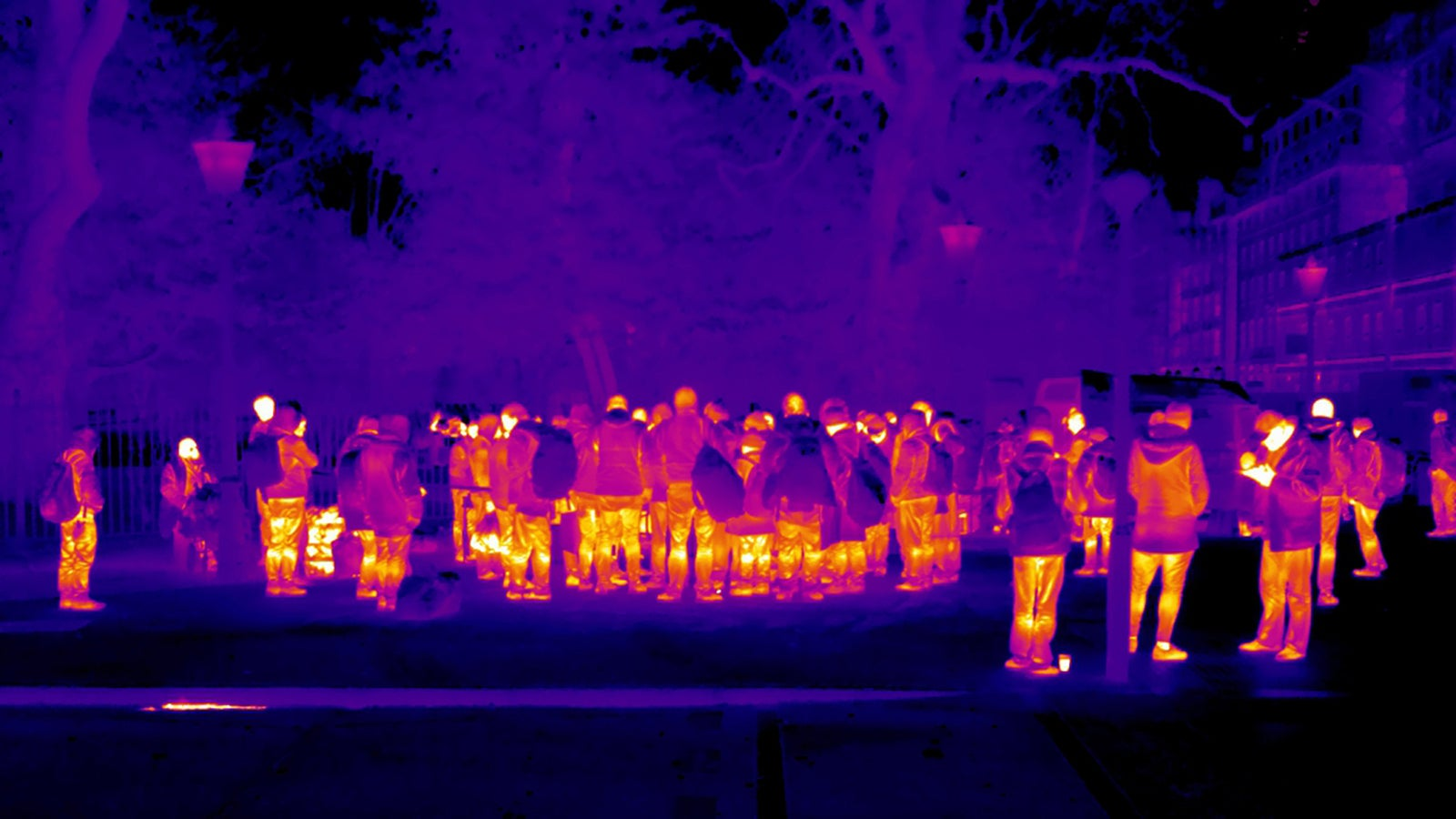 Thermal Photographs Show Europe's Homeless in the Dead of Winter