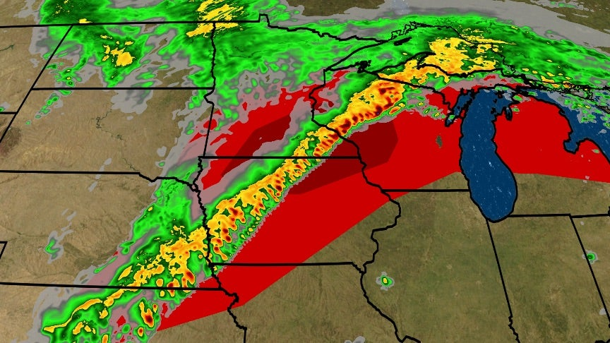 Tropical Moisture Fuels Severe Weather Threat
