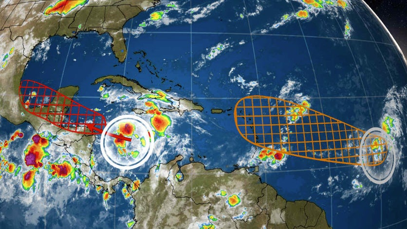 caribbean system could develop into a tropical depression