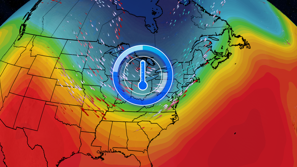 Welcome Break from Heat and Humidity for Much of the East