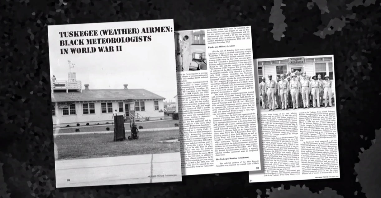 The Tuskegee Weathermen in World War II: Weather's Role in Black History