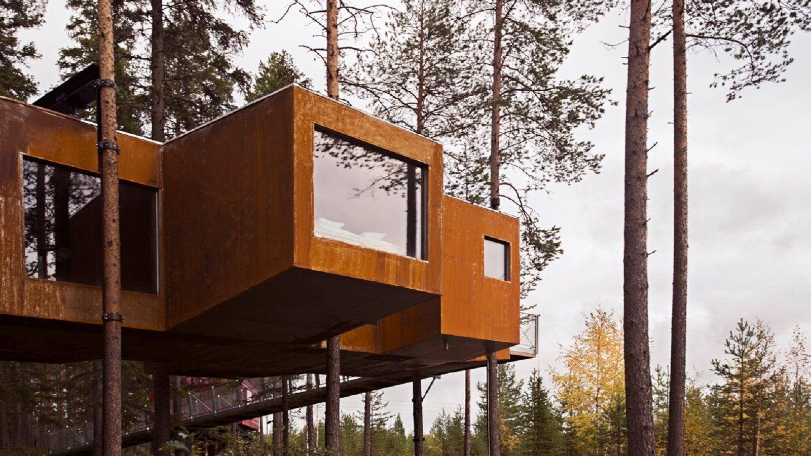 Einmal hoch hinaus: Diese Baumhotels machen es möglich! | The ...