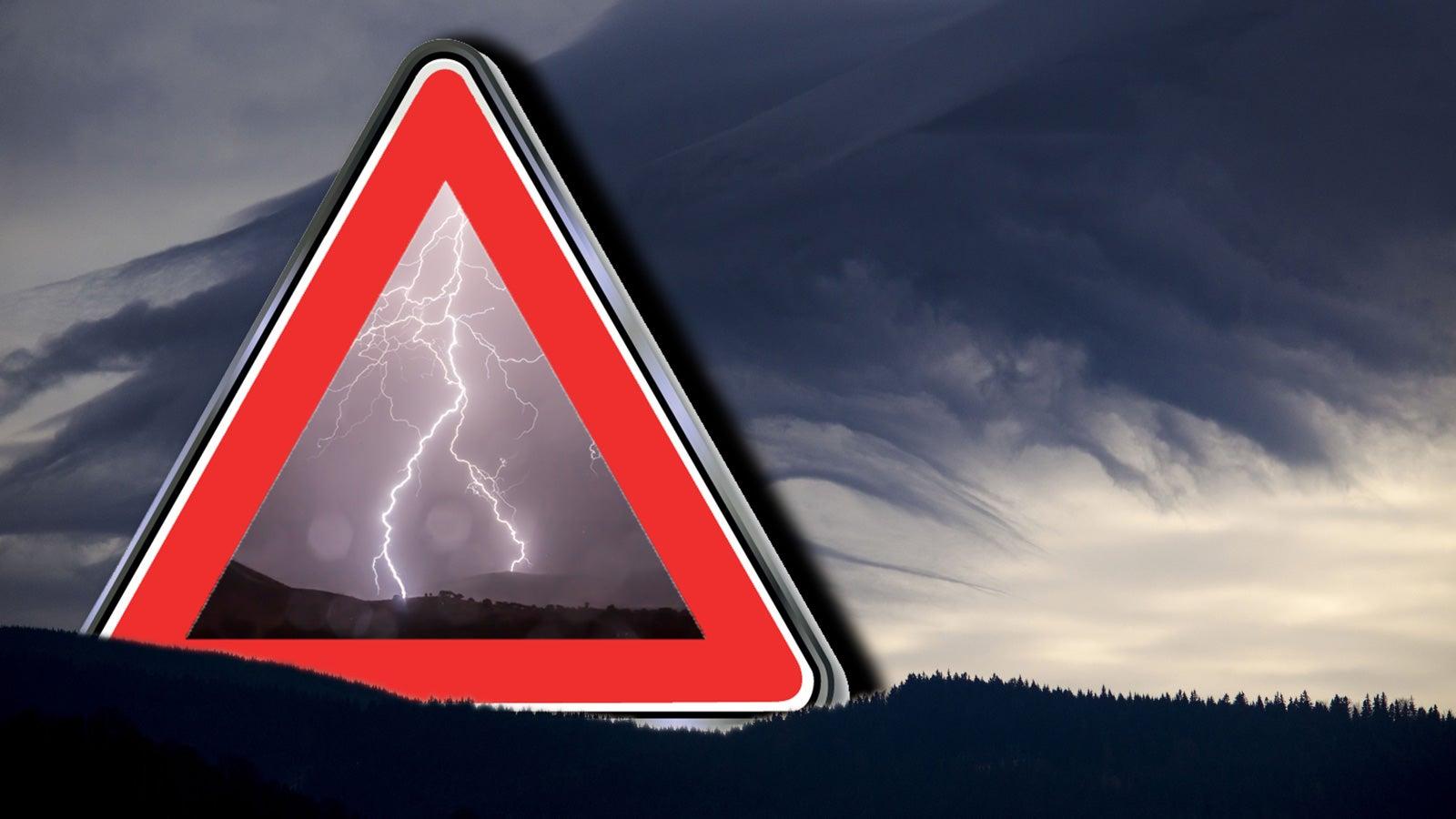 Unwetter Ticker Lebensgefährliches Wetterchaos In Norddeutschland