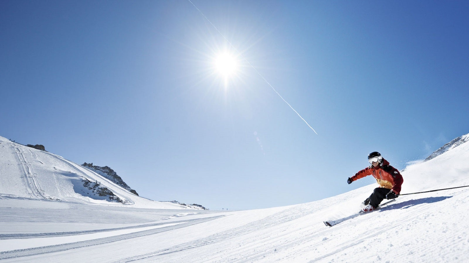 Mega-Abfahrten das ganze Jahr: Hintertux, das Skiparadies