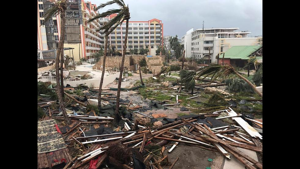 irma ravages caribbean  escaped prisoners loose in the