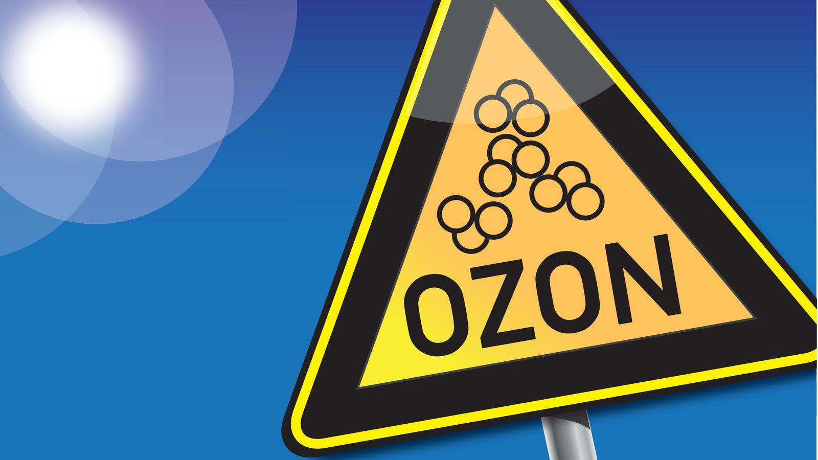 Ozon: Das wichtige Spurengas hat zwei Gesichter