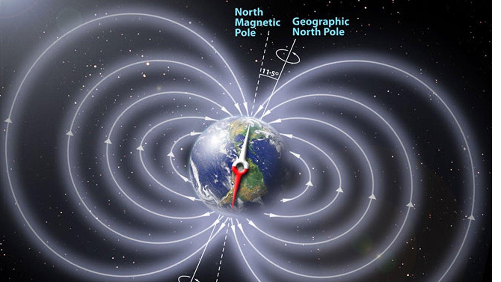 Nicht aufzuhalten: Der Nordpol wird allmählich zum Südpol - das sind ...