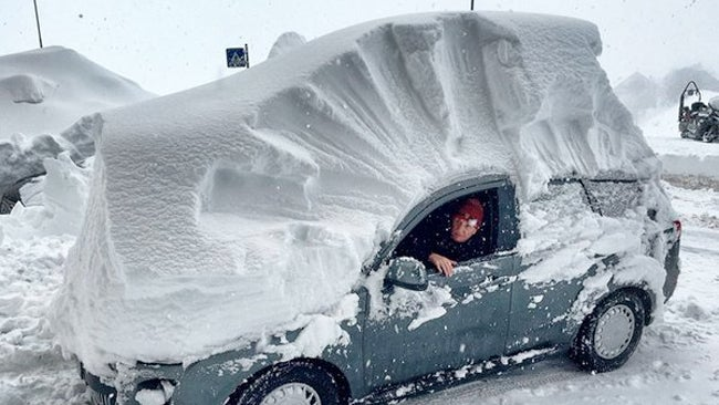 PHOTOS: Heavy snow affects parts of Europe
