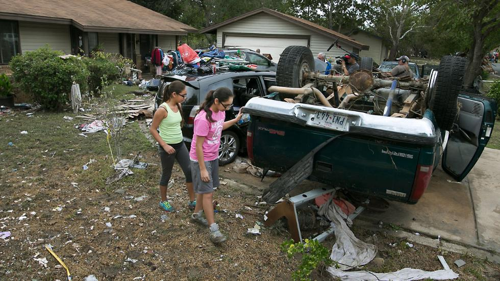 Tornadoes Cause Destruction, Flooding Continues in Texas; 6 Dead, At Least 2 Missing